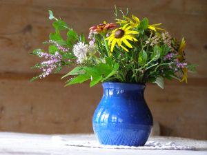 Bukiet letnich kwiatów